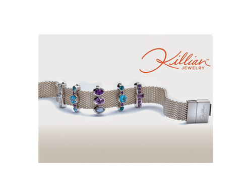 Bracelets and gems in Sterling Silver