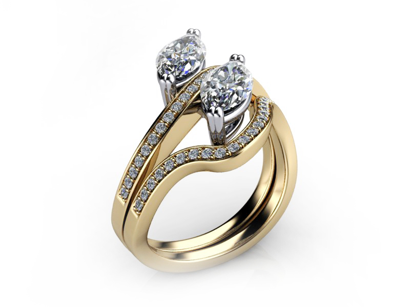 bridal and engagement rings