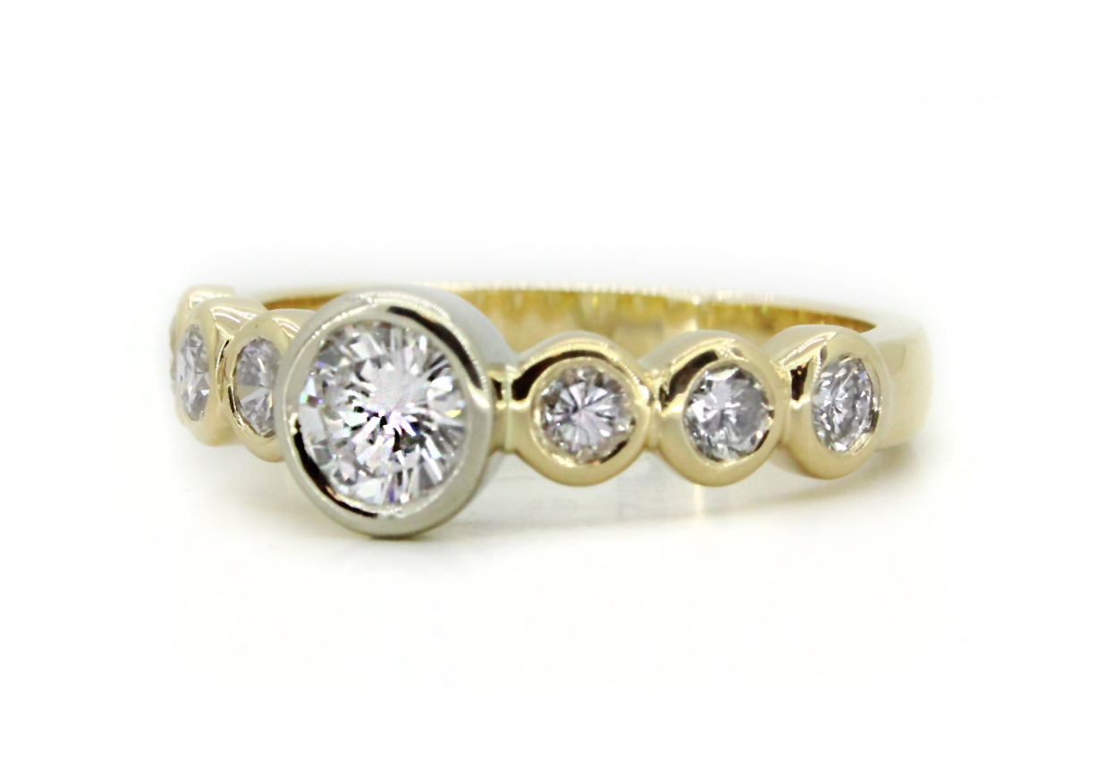 diamond for regarding used engagement wedding promise rings sale